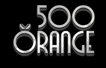 500 orange transparent logo